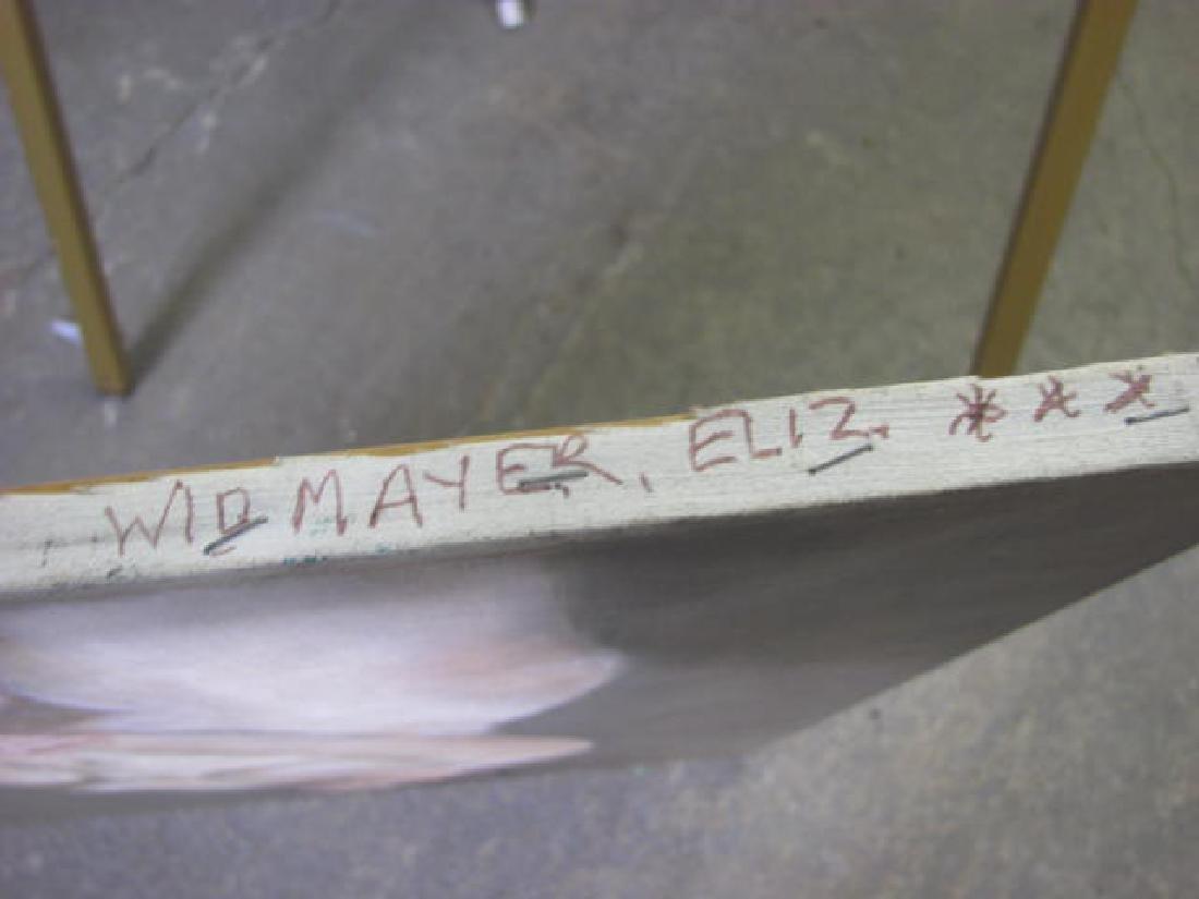 Eliz. Widmayer Signed Nude Portrait - 3