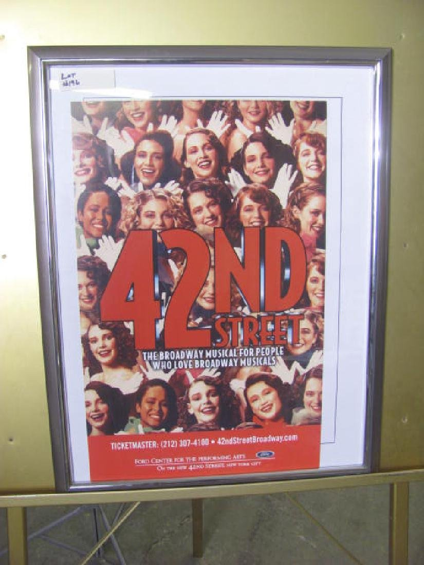 42nd Street Broadway Musical Poster