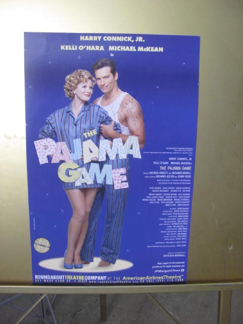 Pajama Game Signed Poster