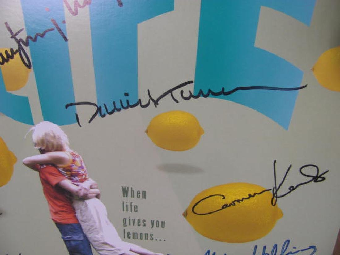 In My Life Broadway Musical Poster Signed - 7