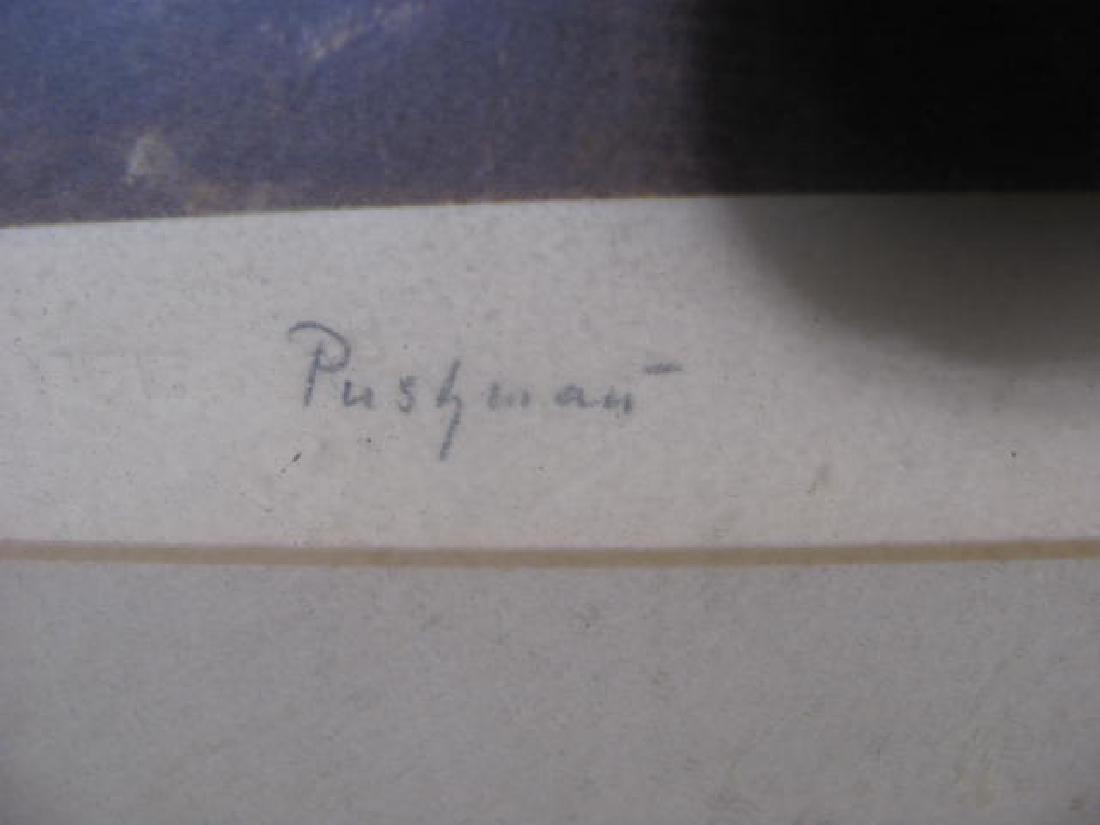 Pushman Signed Print - 3