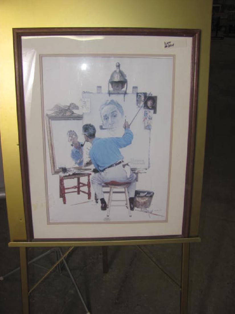 Norman Rockwell Numbered Litho