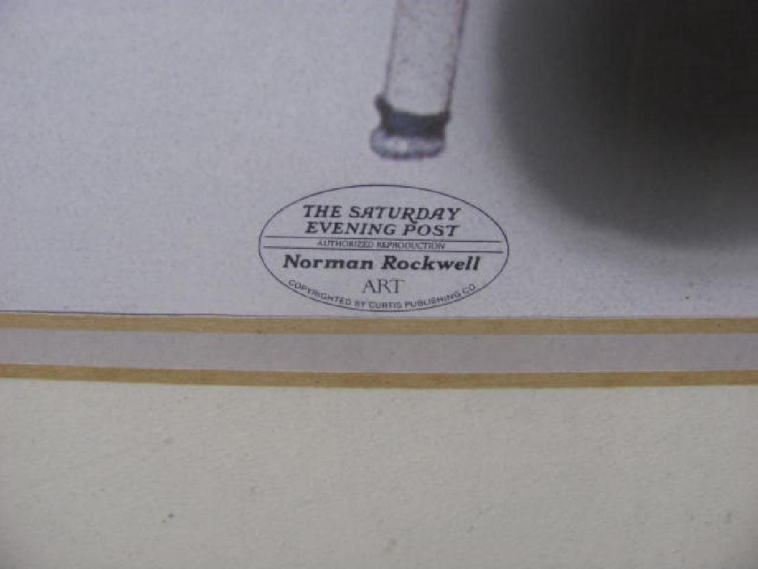 Norman Rockwell Numbered Litho - 3