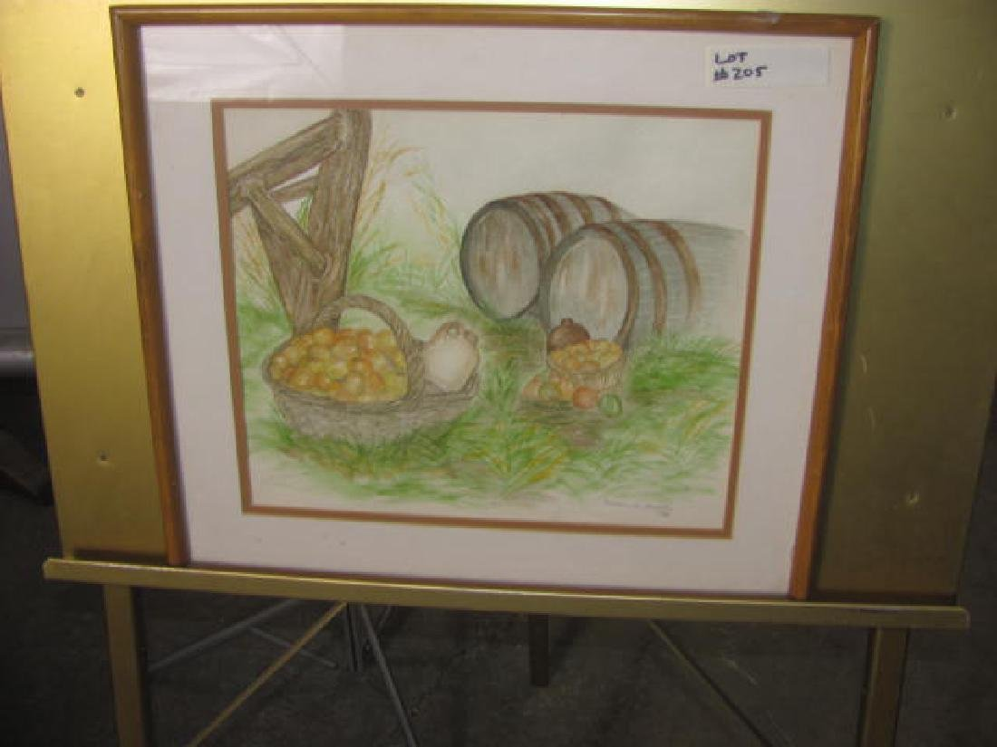 Baskets & Berries Watercolor
