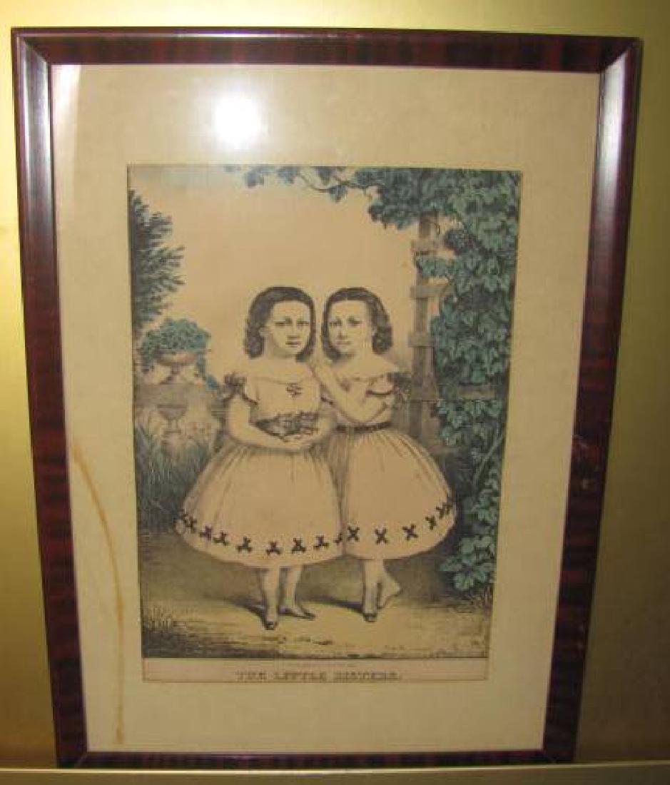 Little Sisters Litho