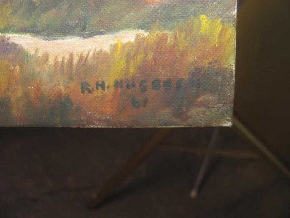 Oil On Board Signed - 2