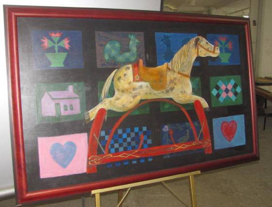 RP Rocking Horse Painting
