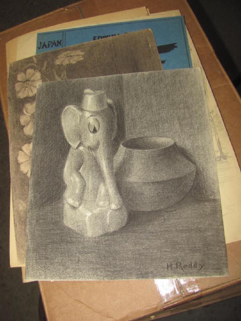 H Reddy Drawings