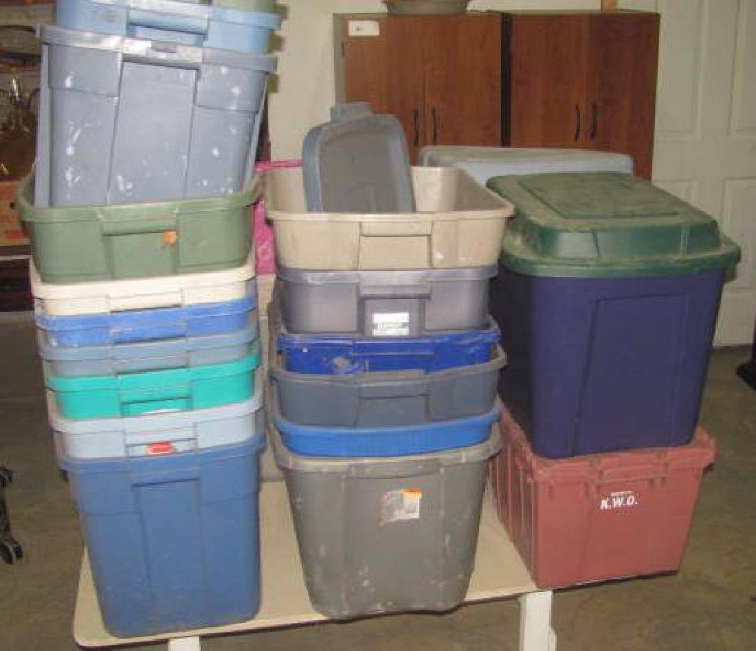 Rubbermaid Totes - 2