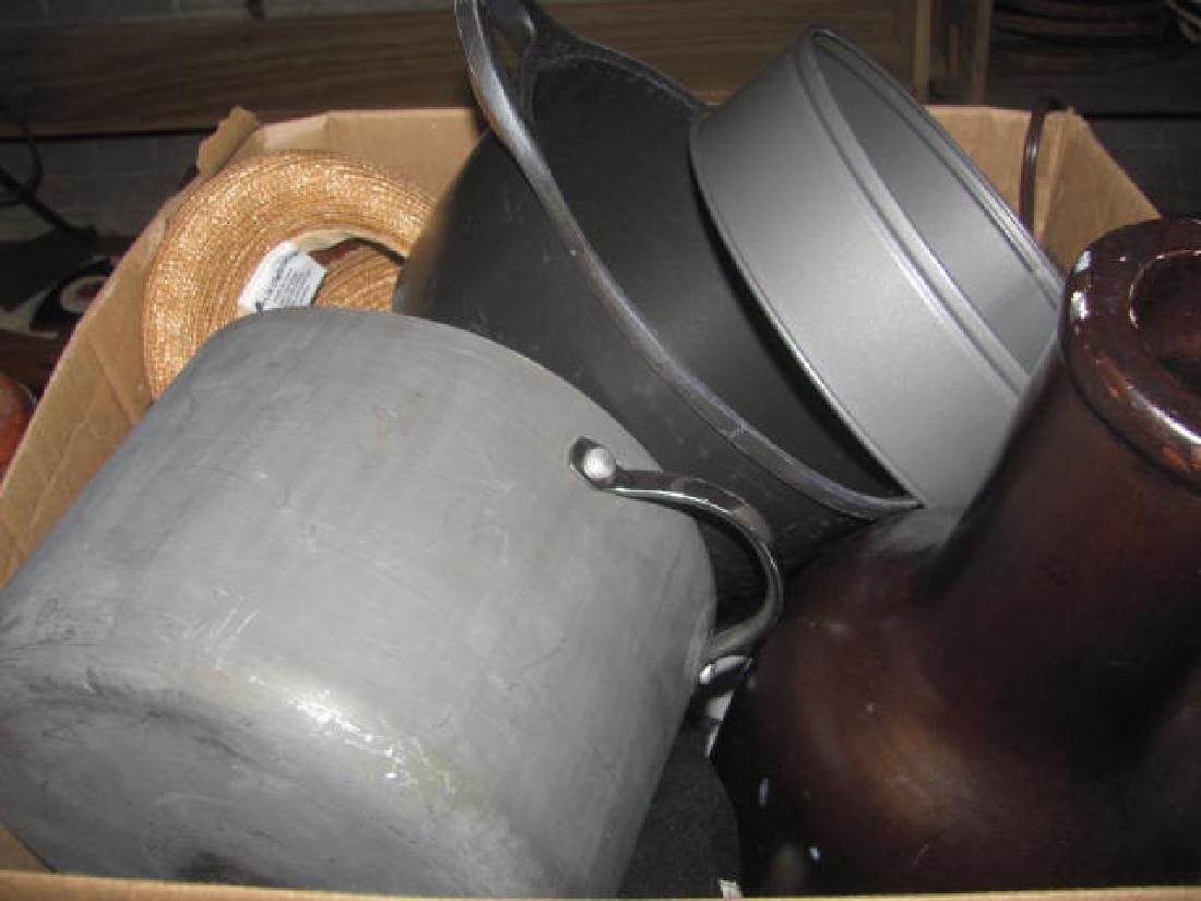 3 Table Lamps & Box Lot - 3