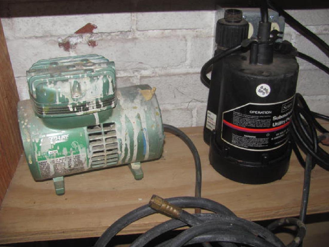 Speedaire & Sears Submersible Pump