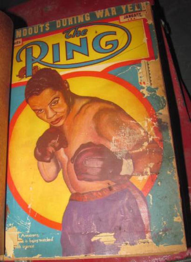 2 Boxing Ring Magazine Binders - 2