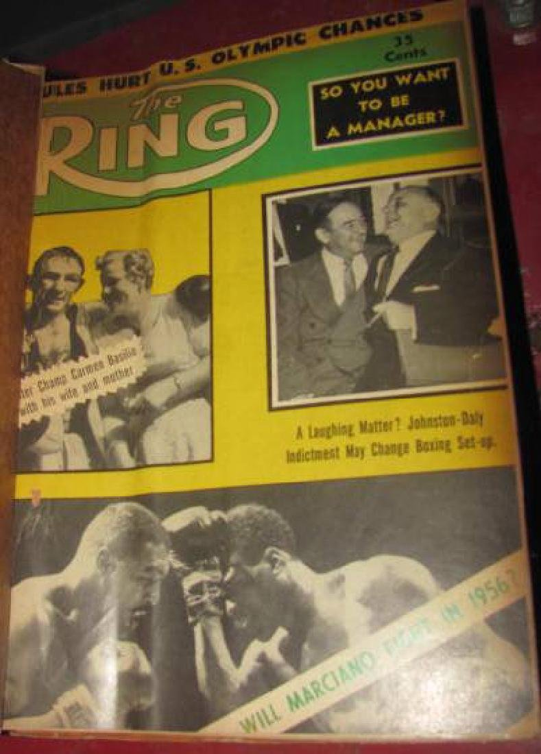2 Boxing Ring Magazine Binders - 4