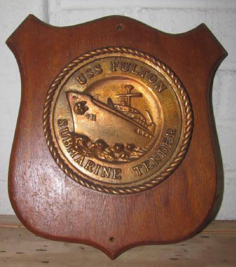 USS Fulton Plaque