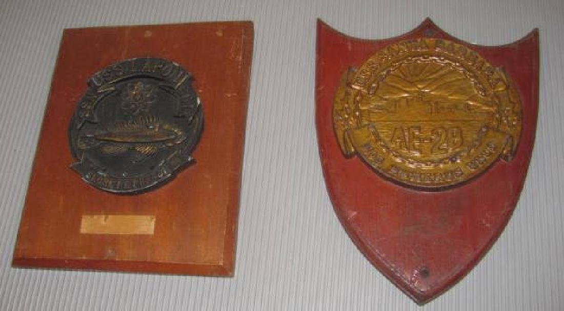 USS Lapon SSN Plaques
