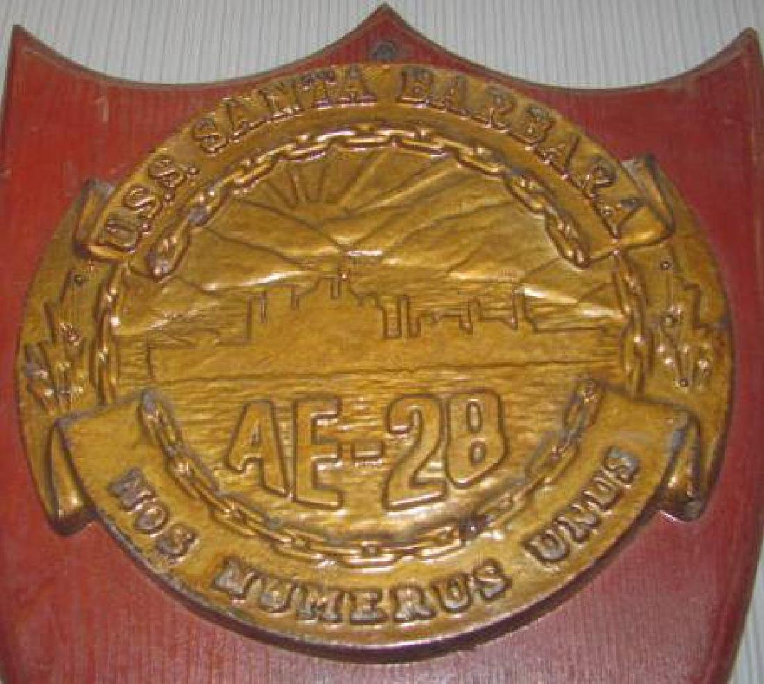 USS Lapon SSN Plaques - 3