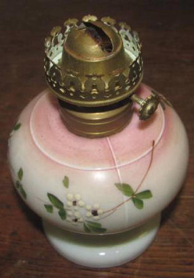Miniature Lamp Pink Nellie Bly D &C - 2