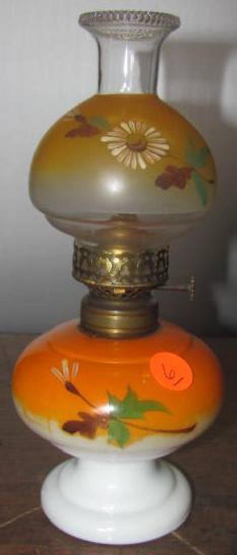 Miniature Lamp Orange Nellie Bly D&C co