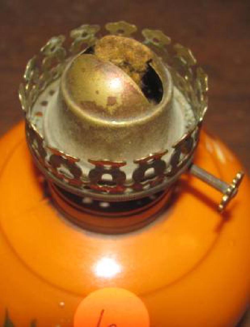 Miniature Lamp Orange Nellie Bly D&C co - 2
