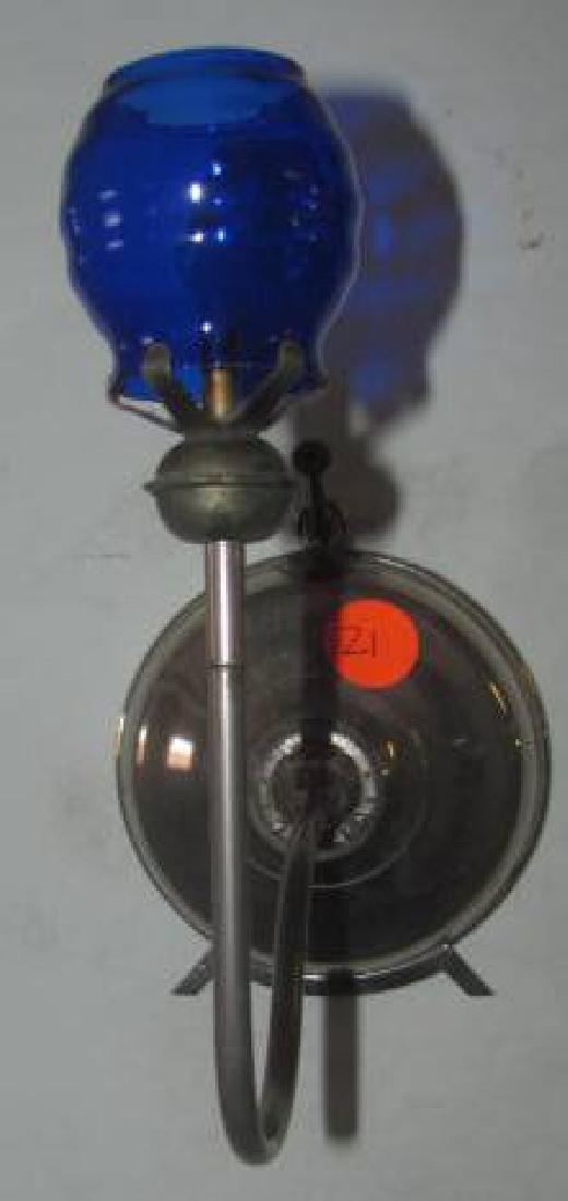 Little Beauty Night Lamp w/ Cobalt Shade