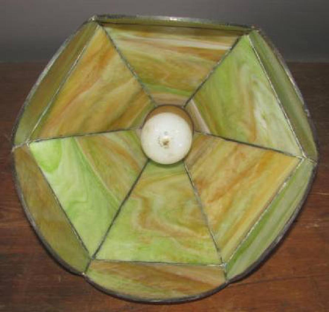 Slag Glass Hall Lamp - 2