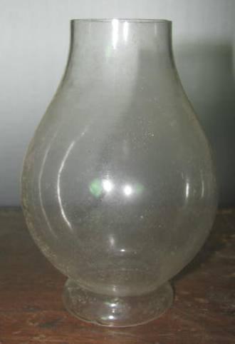 3 Oil Lamp Chimneys - 2