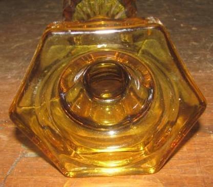Amber Oil Lamp - 2