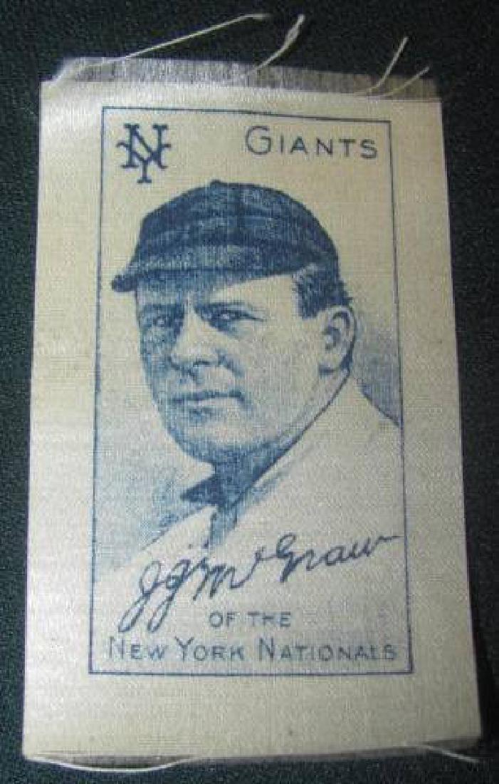 JJ McGraw Baseball Silk Card