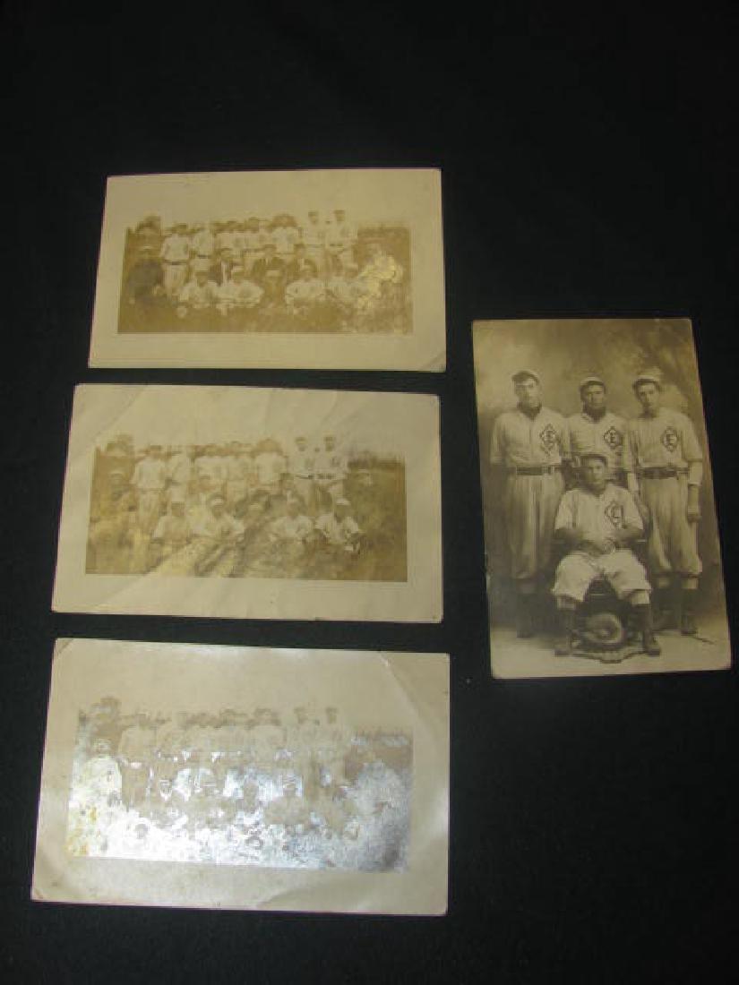 4 EMAUS PA Baseball Postcards