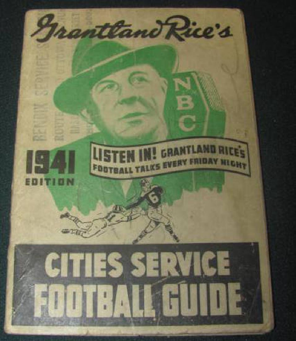 Grantland Rices Football Guide
