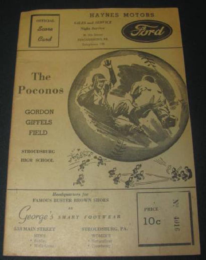 Poconos Gordon Giffels Field