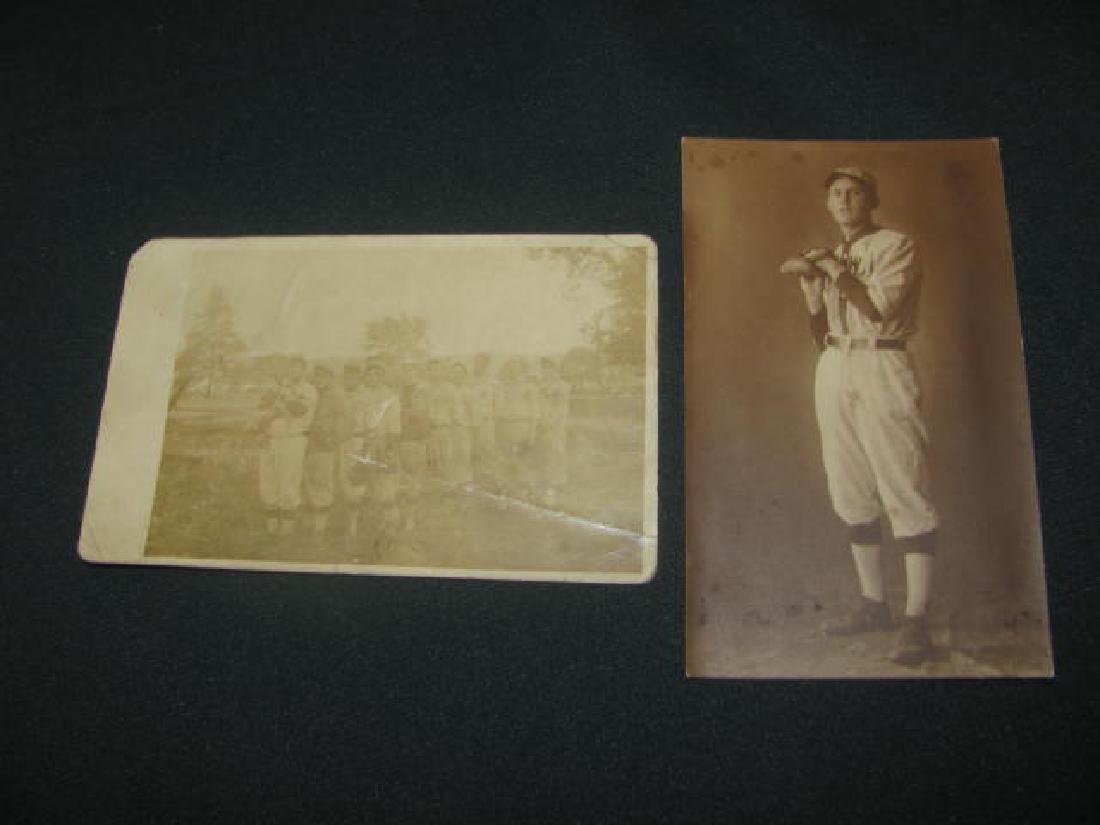 2 Baseball Postcards