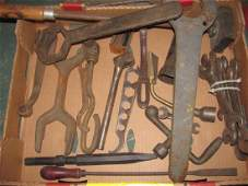 Antique Tool Wrench Lot