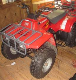 Kawasaki 220 Atv 4 Wheeler