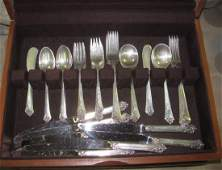 Heirloom Sterling Silver Flatware