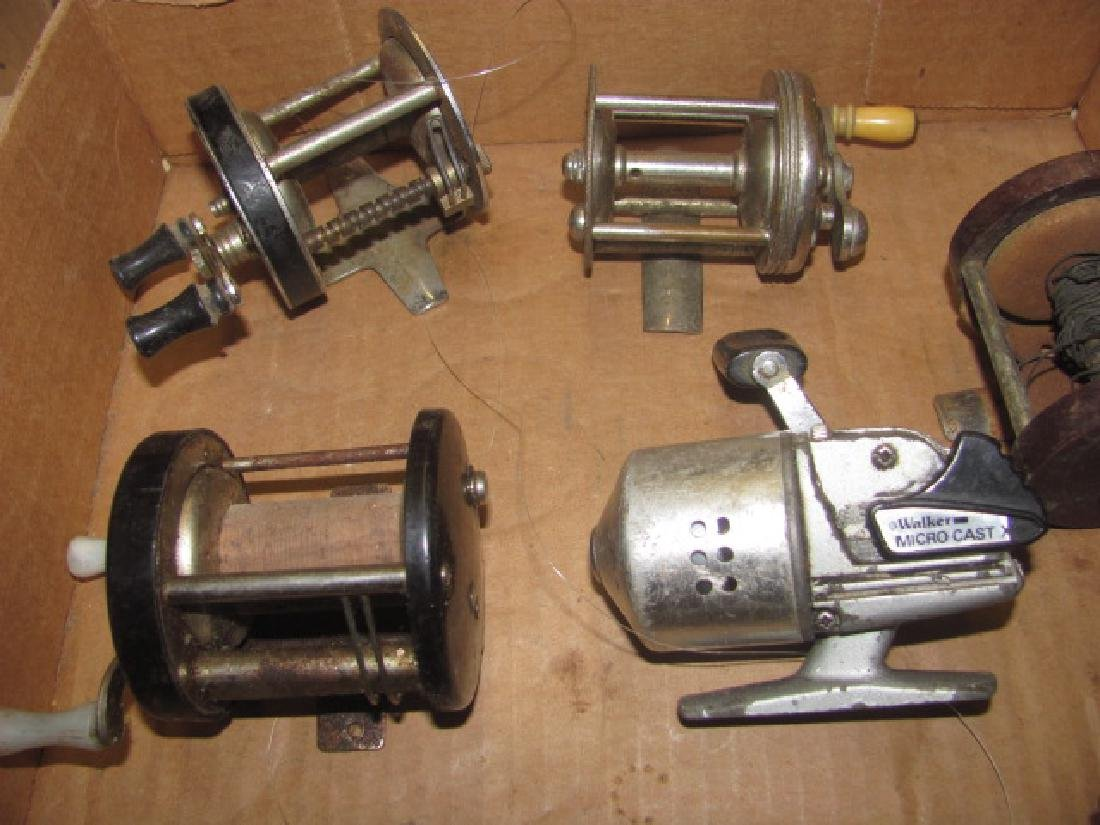 10 Fishing Reels Lot - 2