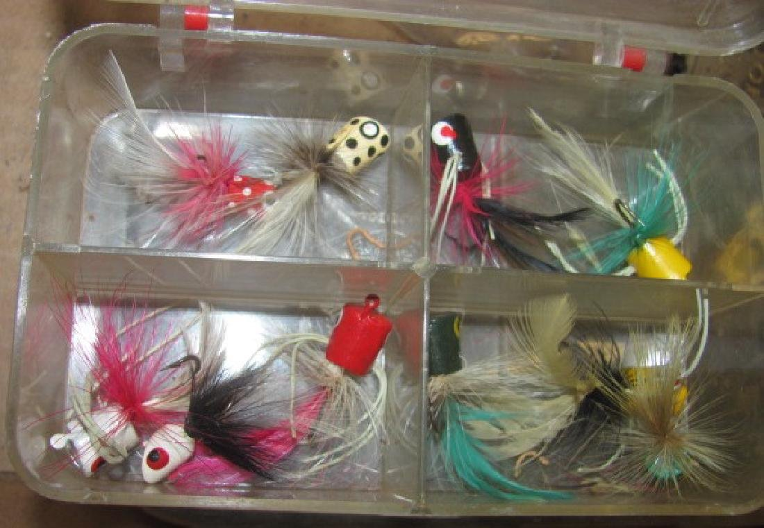Box Lot of Flies - 3