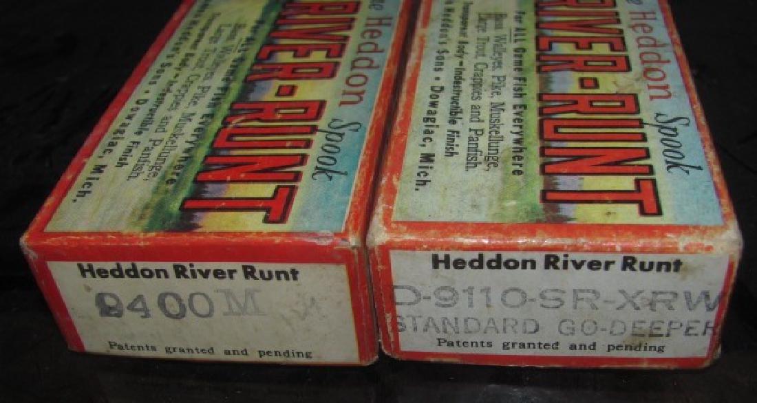 2 Heddon River Runt Lure Boxes - 2