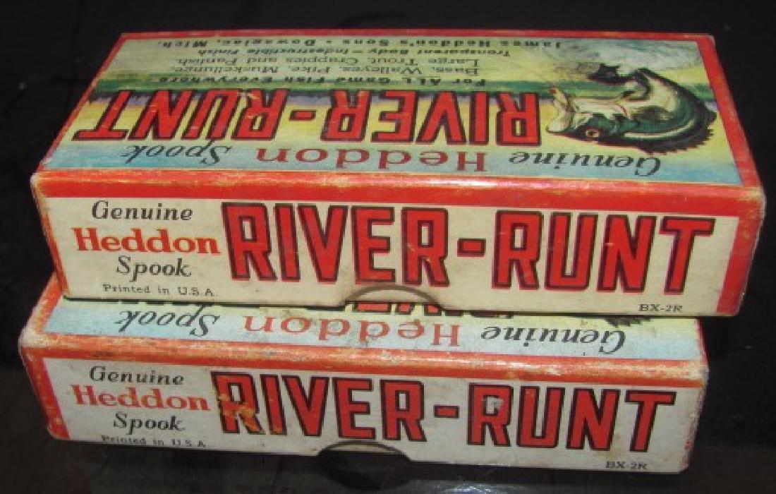 2 Heddon River Runt Lure Boxes - 3