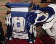 "14"" Ceramic Elephant"