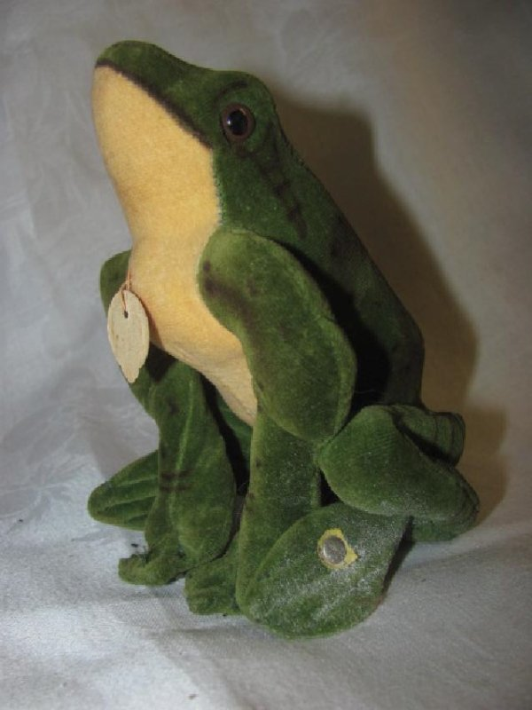 "Steiff 5"" Froggy Frog"