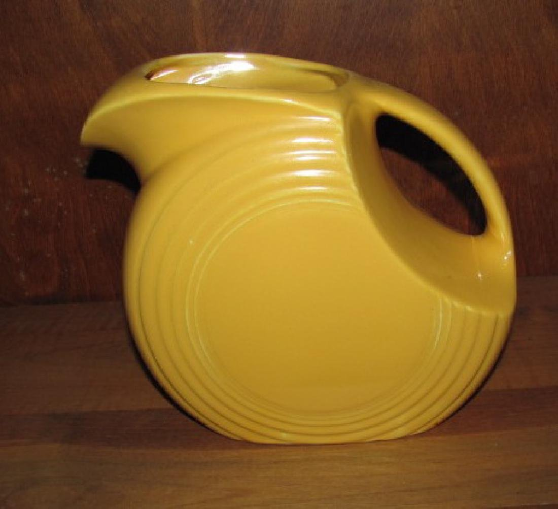 Yellow Fiesta Pitcher