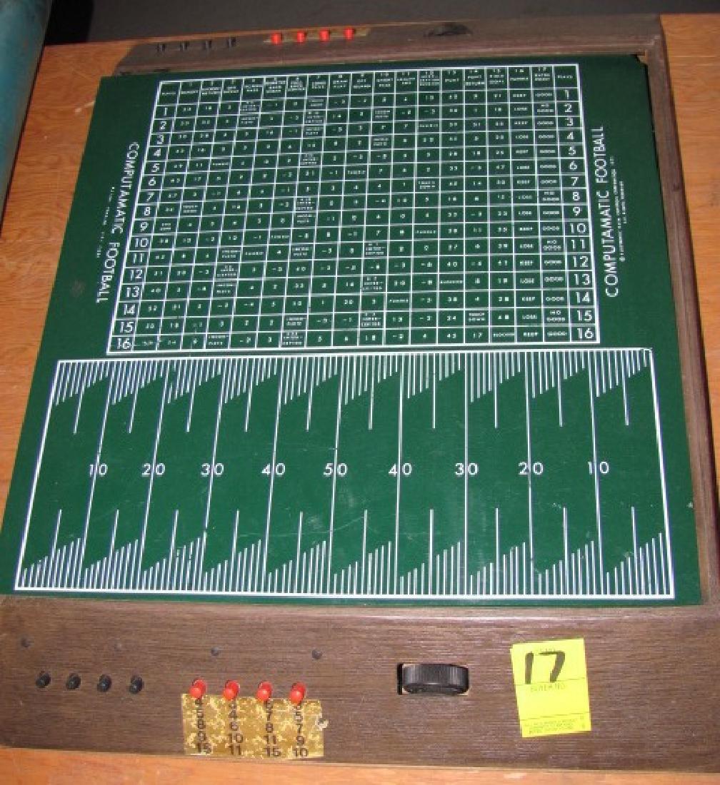 1971 Computamatic Football Game