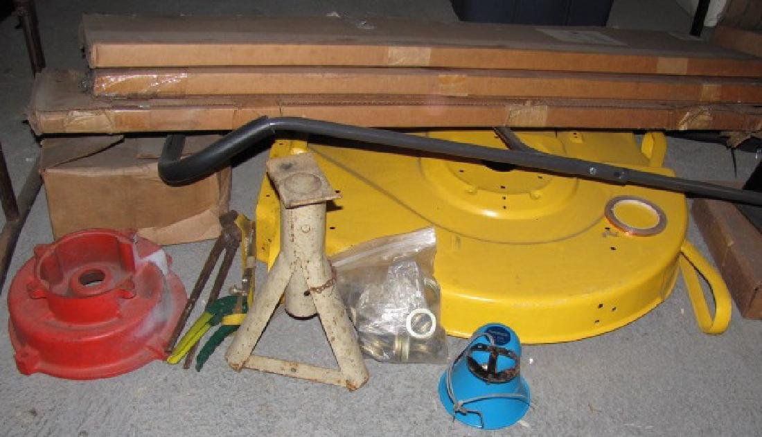 Hahn Mower Deck & Parts Lot