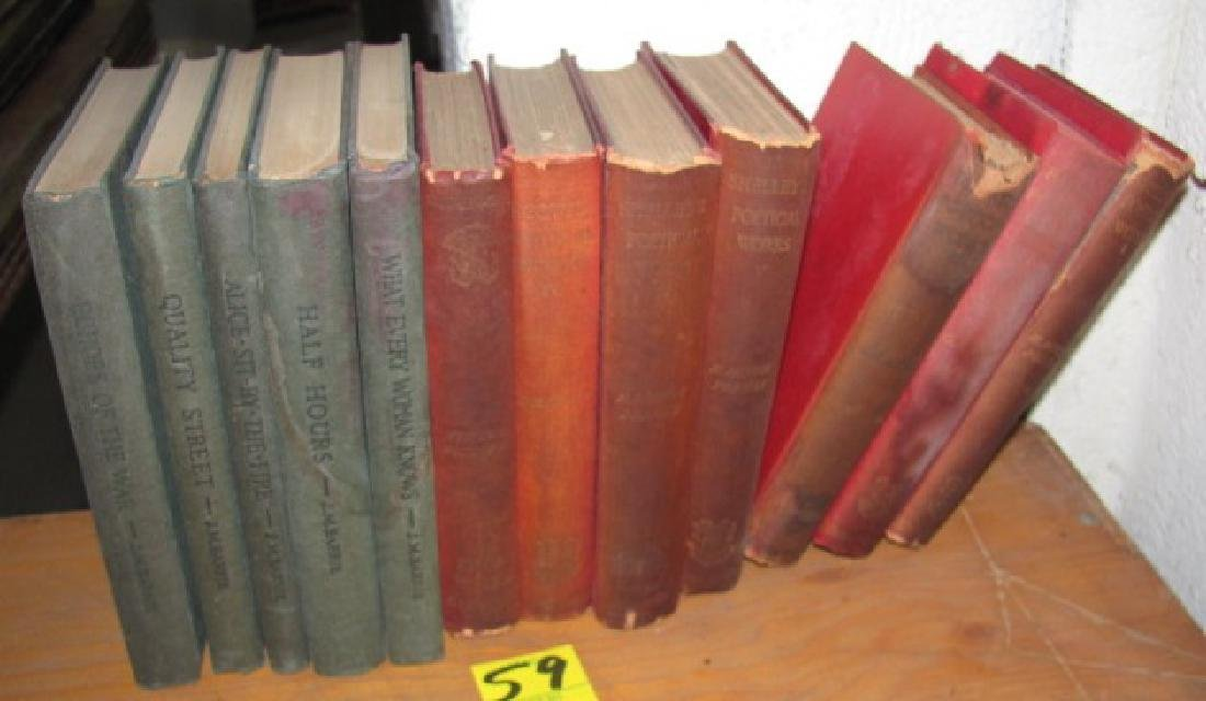 Poetical Works Book Lot