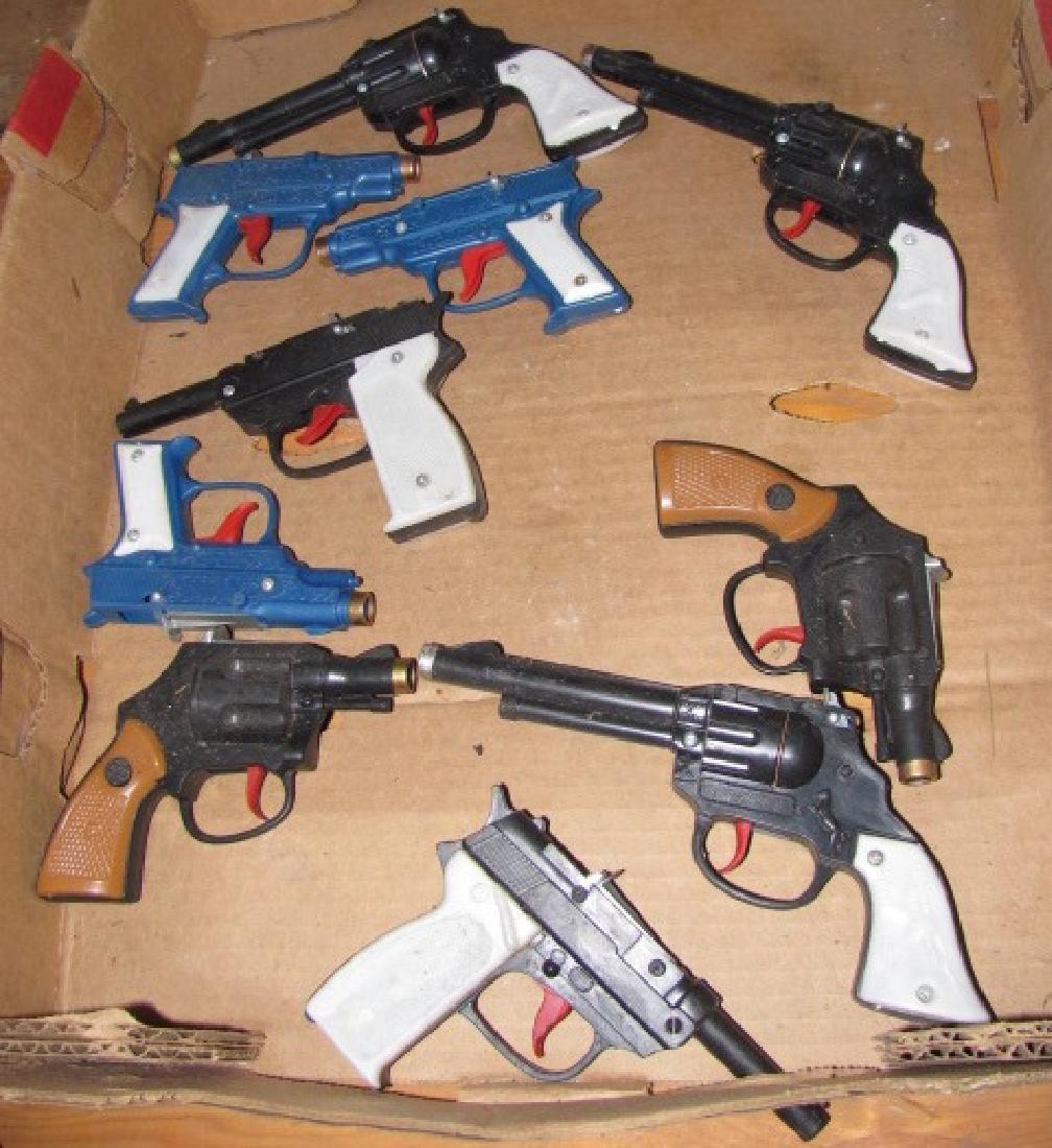 10 Vintage Cap Guns