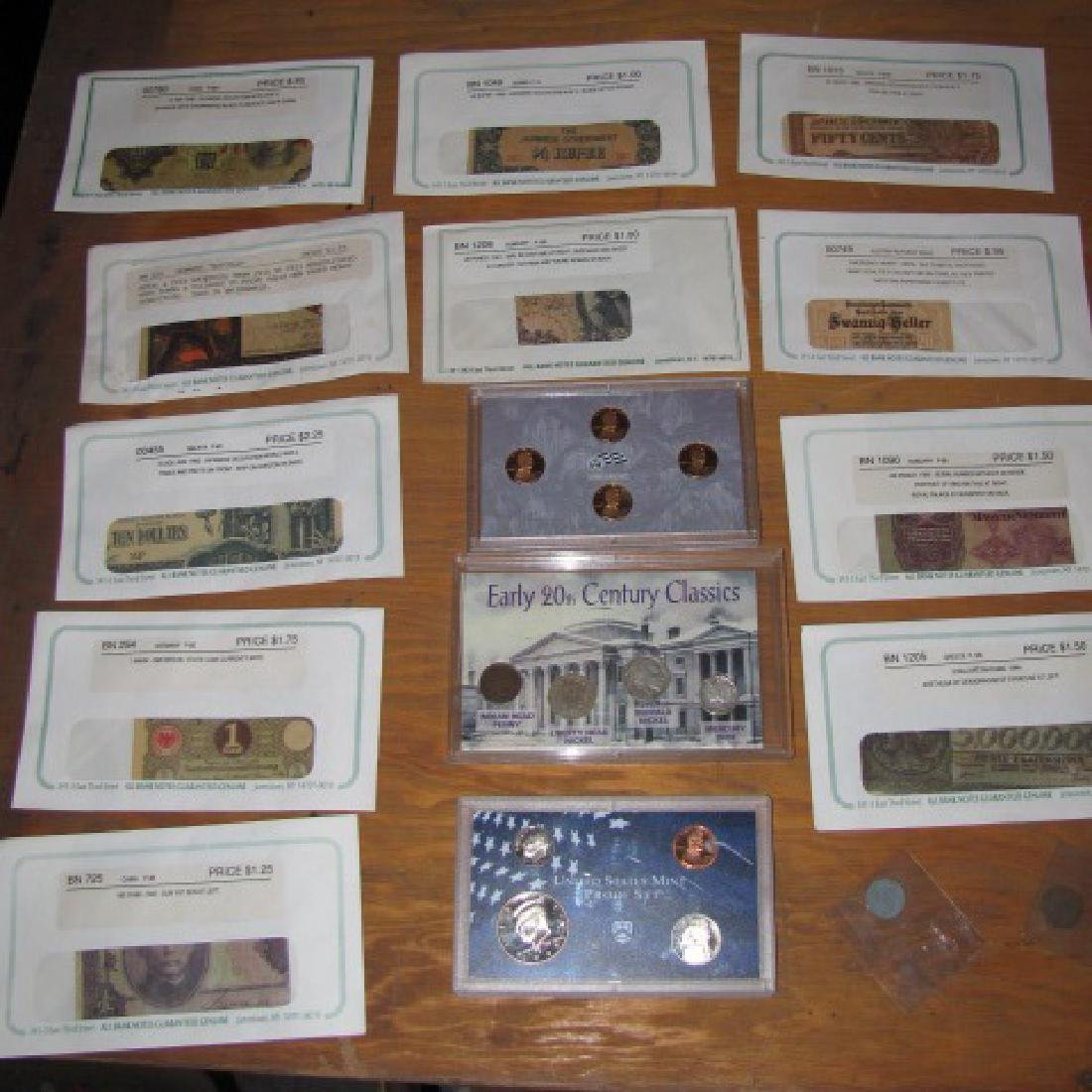 US Coins Foreign Paper Money