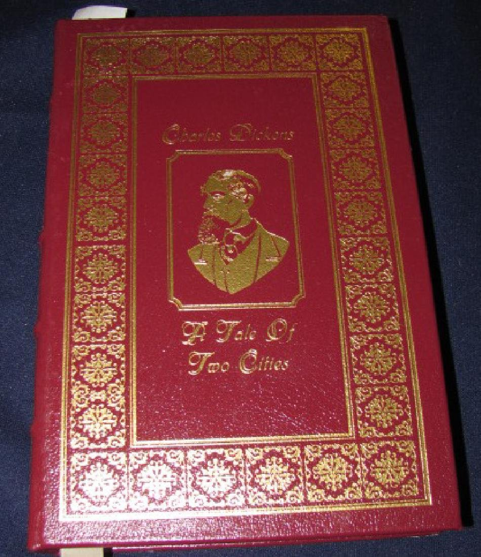 Charles Dickens Leather Bound Book