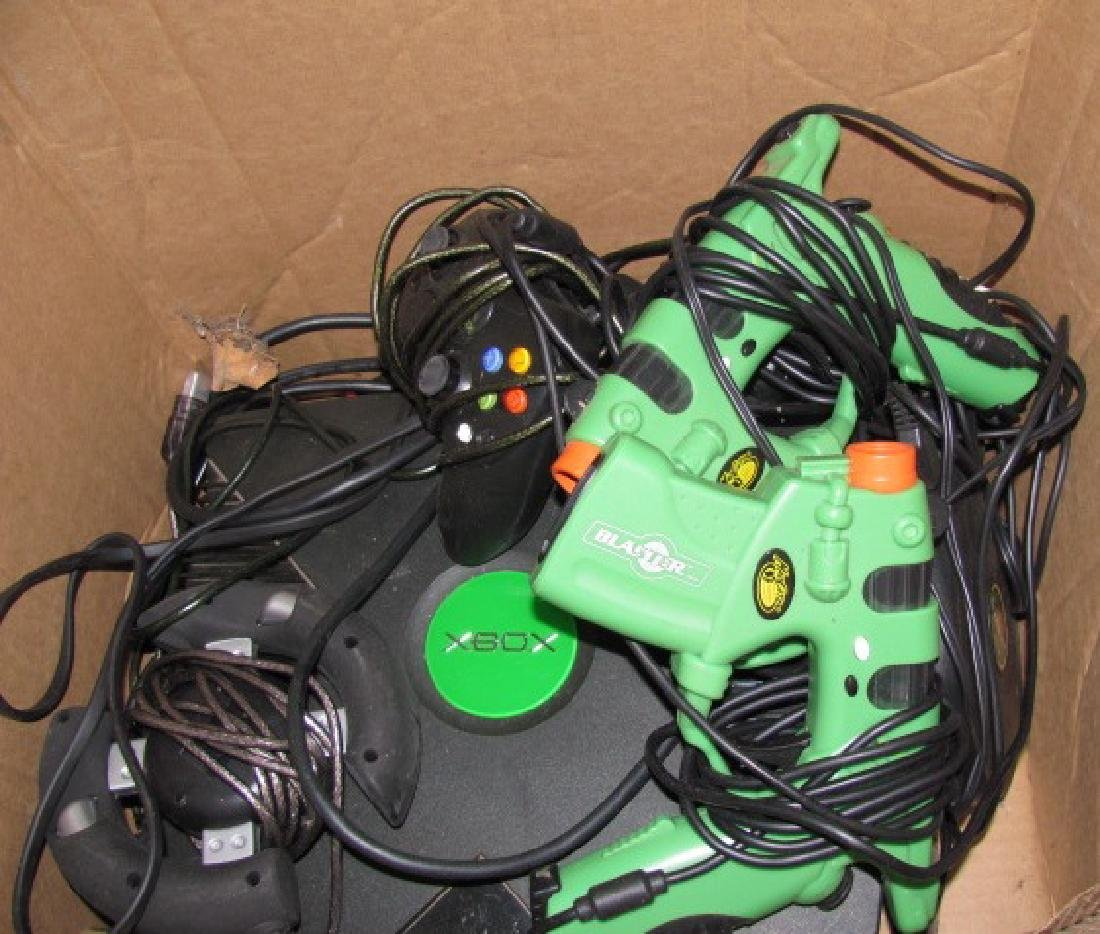 Xbox w/ Games & Controllers