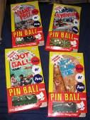 9 Vintage Pinball Games